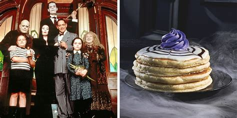 ihop  unveiled  addams family inspired menu