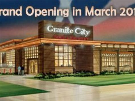 granite city brewery plans march opening in troy troy