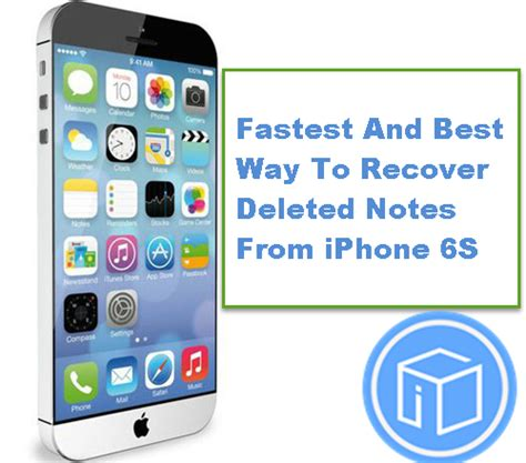 how to retrieve deleted notes on iphone fastest and best way to recover deleted notes from iphone 6s