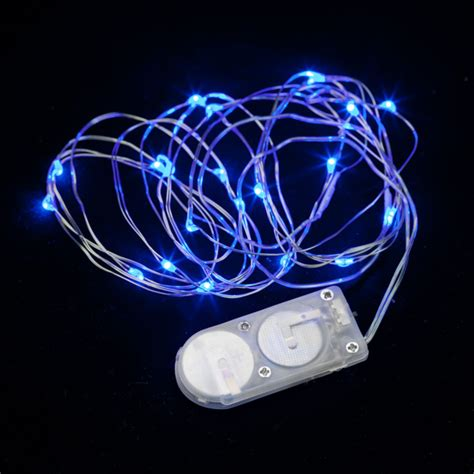 20 micro led blue submersible string light