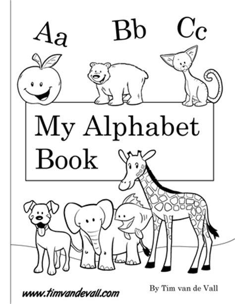 printable alphabet book  printables  preschool