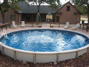 large round above ground pool wilson county 30 ft