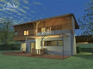 maison bois autonome myqtocom With construire une maison autonome