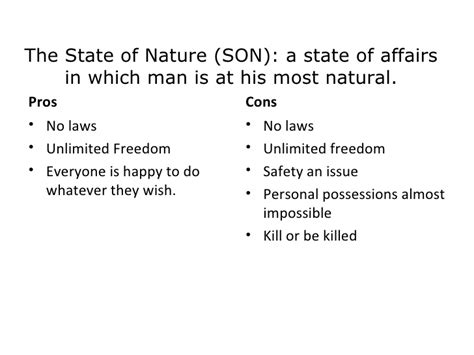 Rousseau state of nature essay