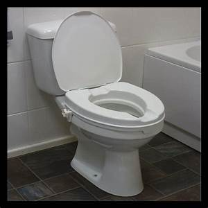 Raised Toilet Seat with Lid | Stockton Mobility Centre