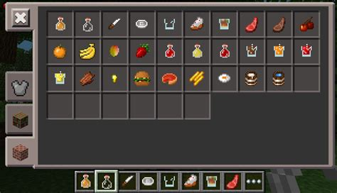 minecraft cuisine how to eat food in minecraft pe 1 0 4 mcpe box