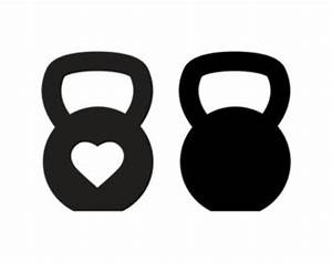 Kettlebells Clip Art Black and White – Cliparts