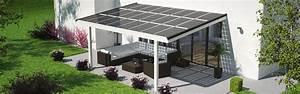 Terrassenuberdachung mit solar verschattung for Terrassenüberdachung solar