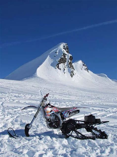 motocross snow bike 1000 images about snowmobiles on pinterest lakes track