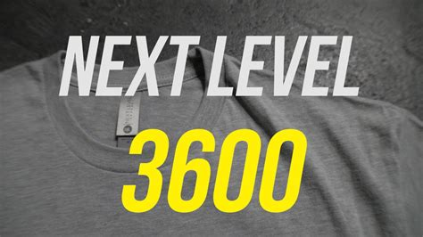T Shirt Review  Next Level 3600 Youtube