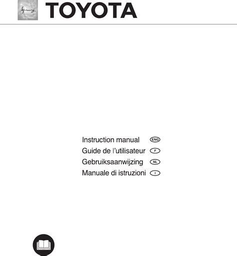 pagina toyota handleiding toyota fsg325 pagina 1 van 80 english