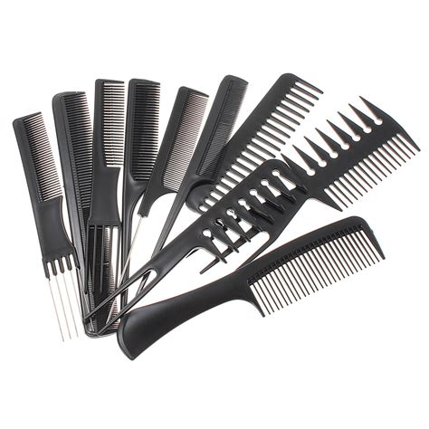 hair combs styles professional salon hair styling hairdressing plastic combs 6989