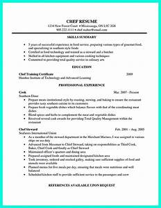 chef resumes that will impress your future company With chef resume sample pdf