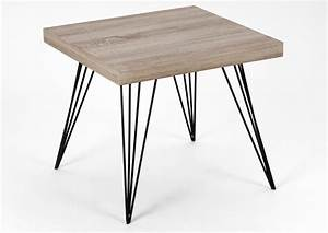 Table Basse Pied Epingle : table basse avenante pied pour table basse haute ~ Dailycaller-alerts.com Idées de Décoration