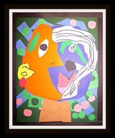 easy kid crafts picasso lesson craft for includes link to a great 1935