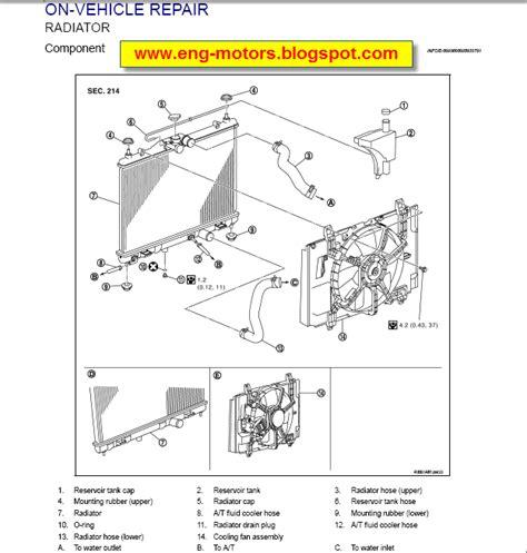 nissan versa tiida service manual service spare parts
