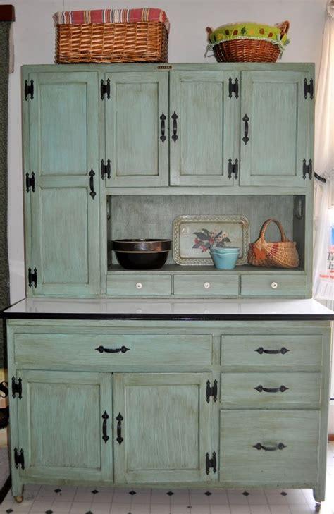 ideas  hoosier cabinet  pinterest oak
