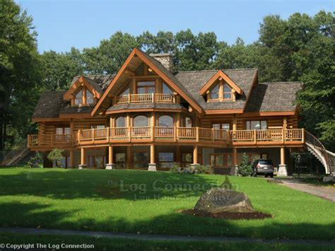 ranch floor plans with walkout basement home log cabin interior log cabin home design