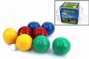 Boccia Kugeln Kaufen : boccia set mit 8 resin kugeln f r 4 spieler made in italy 100 mm in tragebox ebay ~ Orissabook.com Haus und Dekorationen