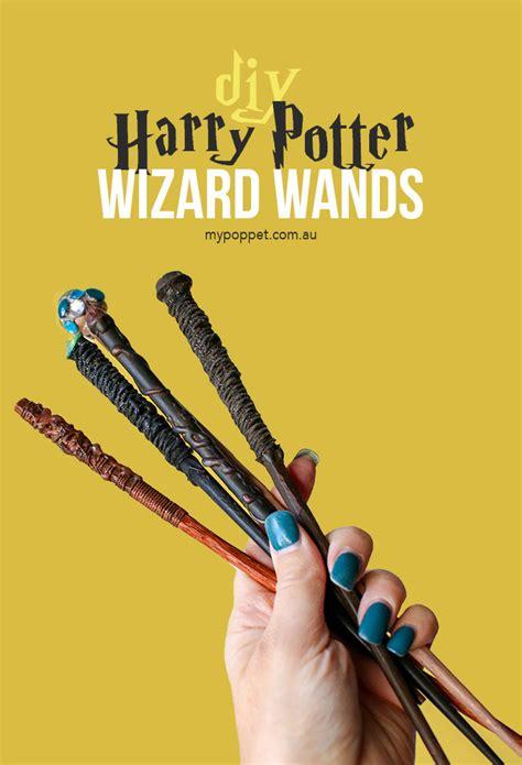 diy harry potter wizard wands  poppet  diy