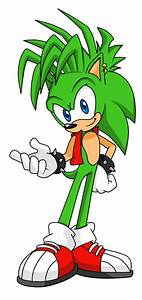 Manic the Hedgehog (As if he were redesigned for Sonic ...