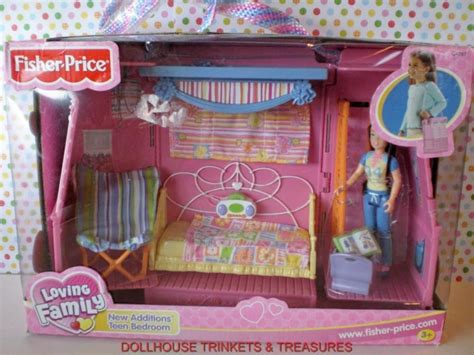 Fisher Price Loving Family Dollhouse New Additions Teen