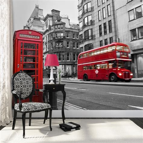 london wall murals  photo wallpapers
