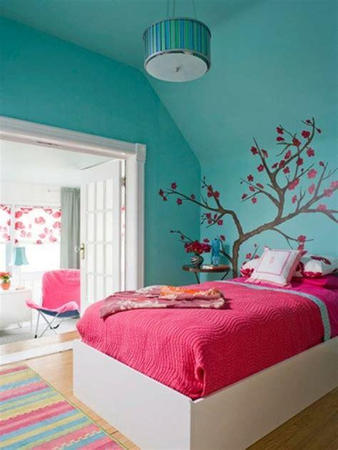 mur chambre déco chambre ado garçon et fille en 48 idées