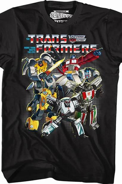 Shirt Collage Transformers Autobots
