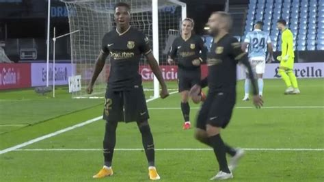 VER GOL Barcelona vs. Celta de Vigo Ansu Fati marcó un ...