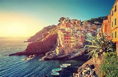 Riomaggiore Italy Italian Cinque Terre Riviera Beaches