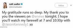 Catt Sadler leaves E! News' as male co-host earns more ...