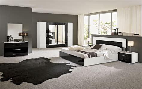 chambre a coucher noir rfcc00102 chambre à coucher moderne blanc et noir mgc