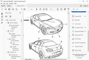 Mazda Rx 8 Workshop Manual