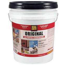 seal krete 5 gal original waterproofing sealer 100005