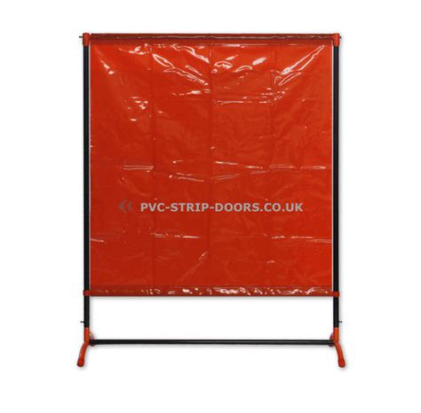 welding curtain with frame defender 200 4 8ft x 6 3ft
