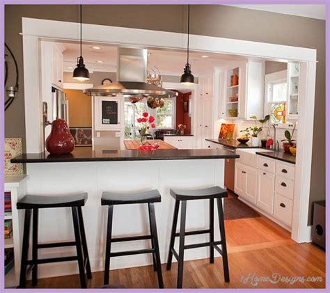 kitchens with breakfast bar designs kitchen breakfast bar design ideas 1homedesigns 8782