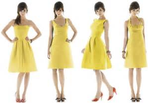 yellow bridesmaids dresses advantages of yellow bridesmaid dresses
