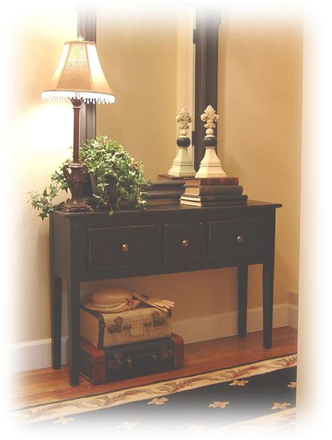 Entryway And Foyer Furniture notes from a cottage industry new entry table