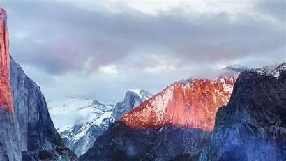 Mac Apple Capitan El Mountain Osx Desktop