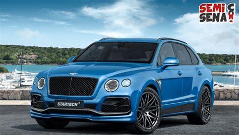 Modifikasi Bentley Bentayga by Disulap Jadi Sporty Bentley Bentayga Berikan Kesan Mewah