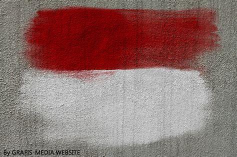 gambar bendera merah putih keren grafis media