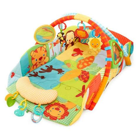 tapis d eveil en soldes bright starts tapis d 233 veil swingin safari baby s achat vente tapis 233 veil aire b 233 b 233