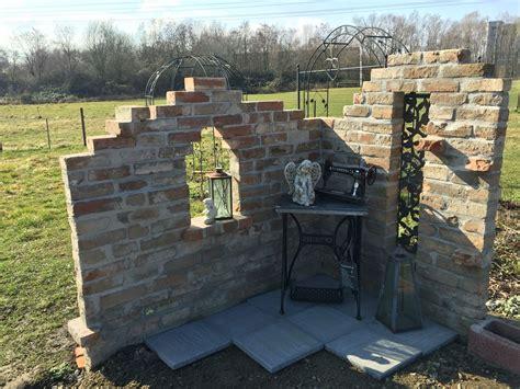 Mauer Im Garten by Ruine Im Garten Wall Garden Mauer Selbstgebaut Diys My