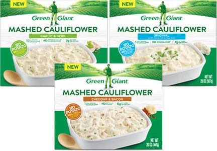 Green Giant Cauliflower Mashed Potatoes