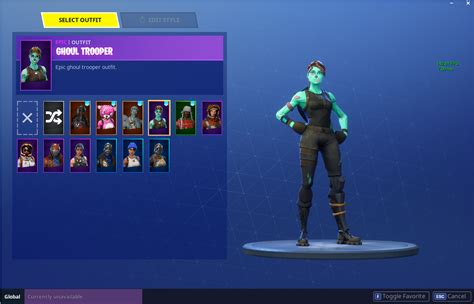 Ghoul Trooper + Scythe + Christmas Skins + Founder's