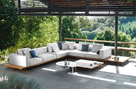 Best Outdoor Furniture by 25 Inspirations Of Modern Outdoor Furniture Sofa Set