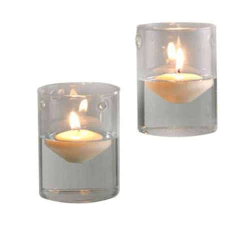 Candle Holder With Holes by Hanging Votive Candle Holders Cylinder 2 Holes Bulk