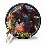 Zed League Legends Icon Lol Unofficial Icons