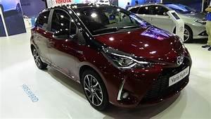 Essai Toyota Yaris Hybride 2018 : 2018 toyota yaris hybrid feel bi tono exterior and interior automobile barcelona 2017 youtube ~ Medecine-chirurgie-esthetiques.com Avis de Voitures